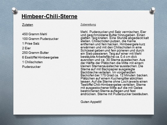 Hmbeer-Chili-Sterne